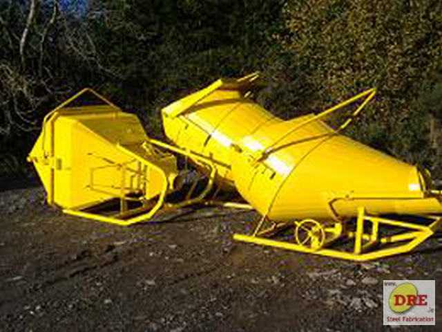 banana crane concrete bin skip cone dre.ie ireland