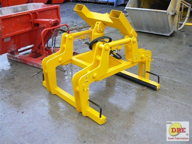 hydraulic block grab hire dre bunclody dre.ie ireland