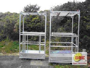 Crane Cage Work platform dre ireland