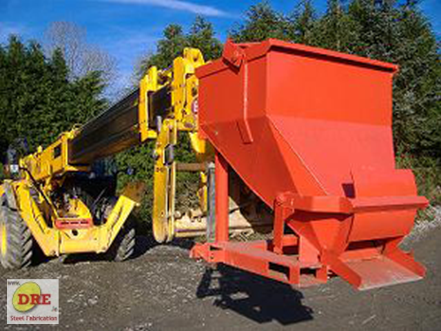 hydraulic concrete cone hire dre bunclody dre.ie ireland