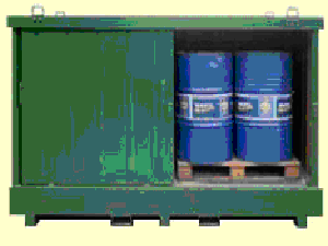 chemical storage cabinet ireland