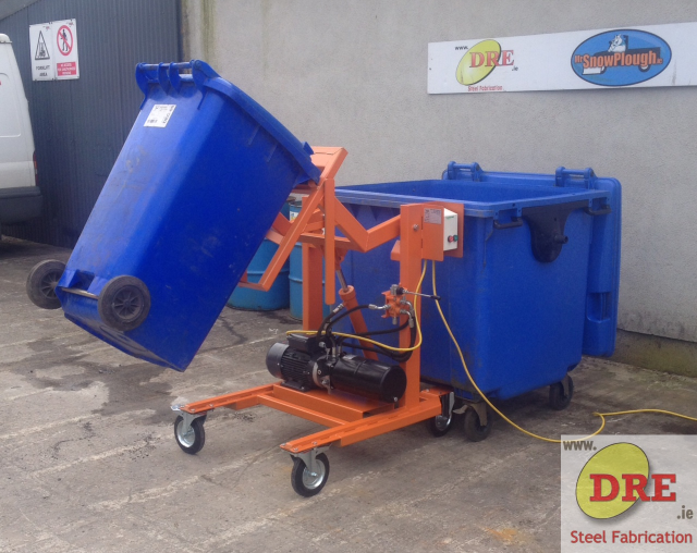 industrial bin tipper dre.ie ireland